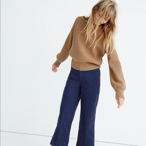 NWT Free Press camel sweater